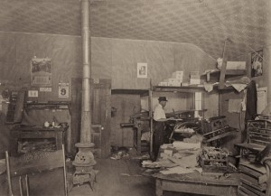 The Palestine Press, circa 1911