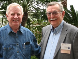Willis Webb, right, and Rigby Owen Jr.